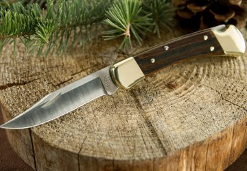 buck 110 folding hunter knife review